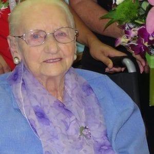 Arcare Aged Care Sandfield Cheltenham Kathleen 90th