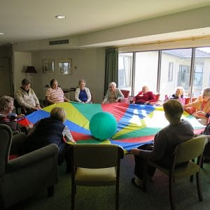 Arcare Aged Care Greenhill Epping Balls Games