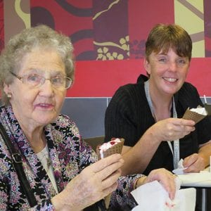 Arcare Aged Care Greenhill Epping McDonalds Visit