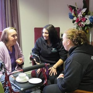 Arcare Aged Care Greenhill Epping Student Visits
