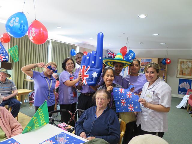 Arcare Aged Care Hampstead Maidstone Australia Day