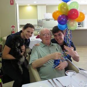 Arcare_Aged_Care_Helensvale_Montys_Birthday