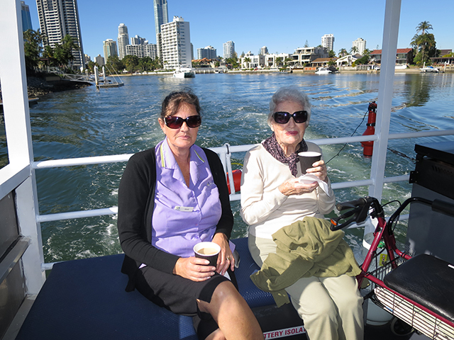 Arcare_Aged_Care_Helensvale_River_Cruising