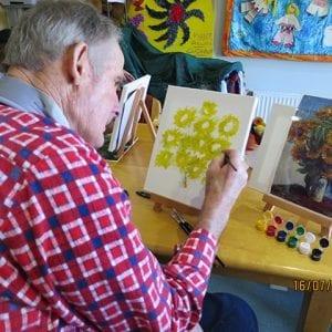 Arcare Aged Care Overton Lea Sydenham Art Class