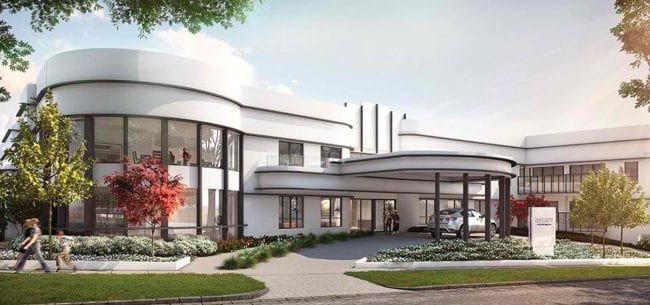 Arcare_Aged_Care_Chadstone_Exterior