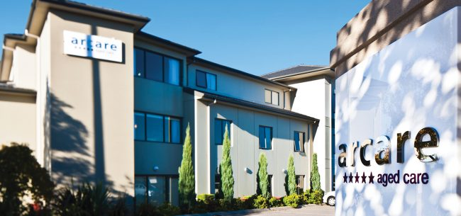 Arcare Aged Care Epping Greenhill Exterior