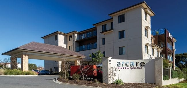 Arcare Aged Care Knox Exterior