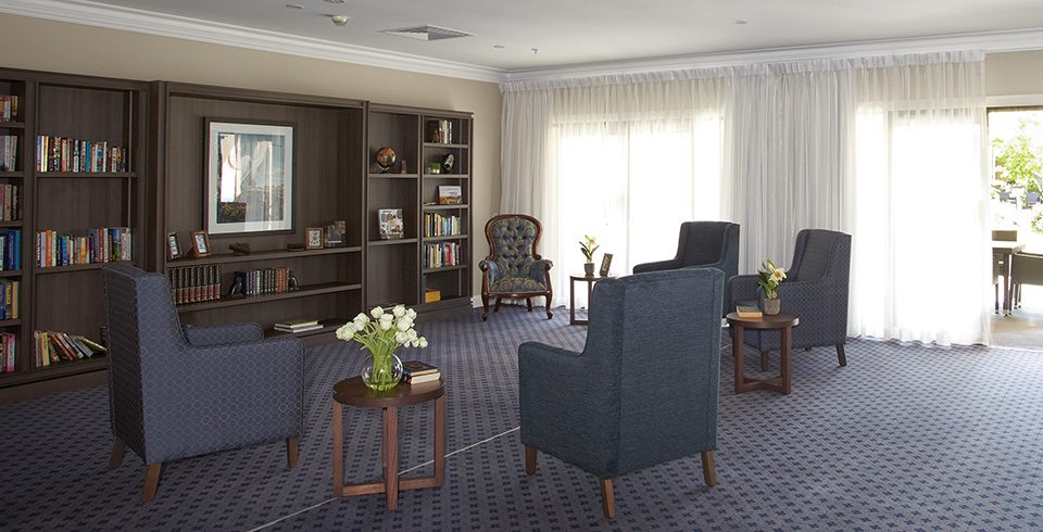 Arcare Aged Care Regency Hope Island Lounge Room