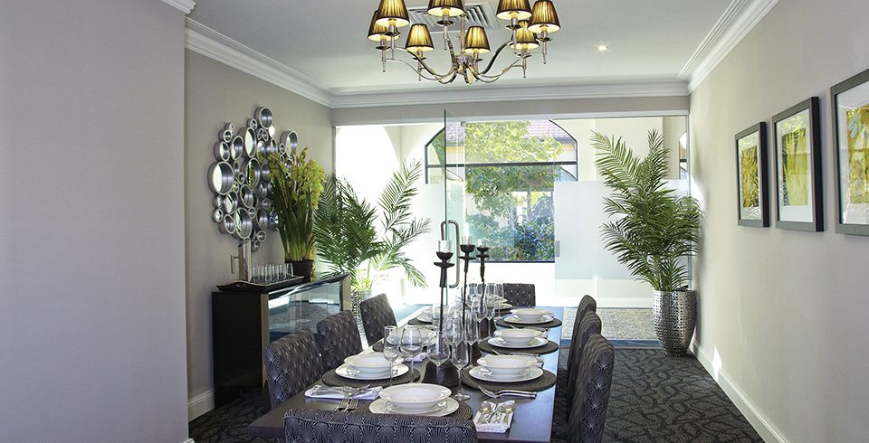 Arcare Aged Care Regency Hope Island Private Dining Room