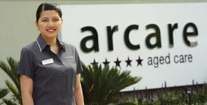 Arcare Aged Care Careers Home Page