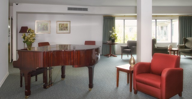 Arcare Aged Care Epping Greenhill Piano Lounge