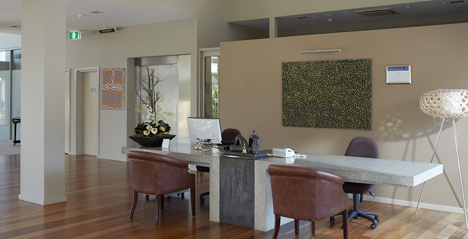 Arcare Aged Care Helensvale Reception