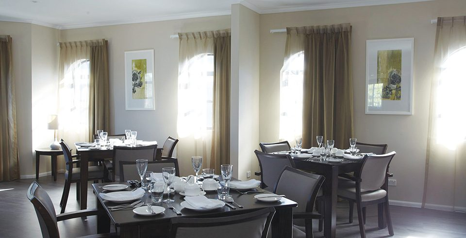 Arcare Aged Care Helensvale St James Dining Room