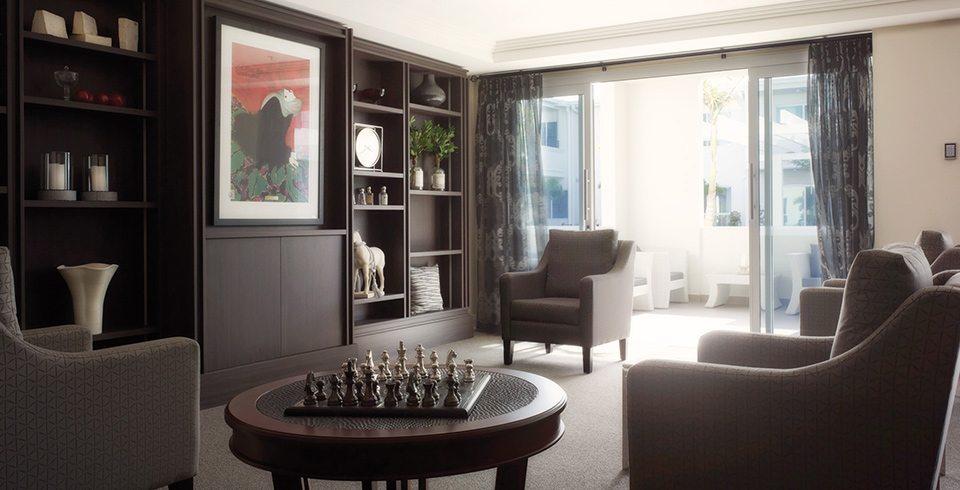 Arcare Aged Care Hope Island Lounge Room