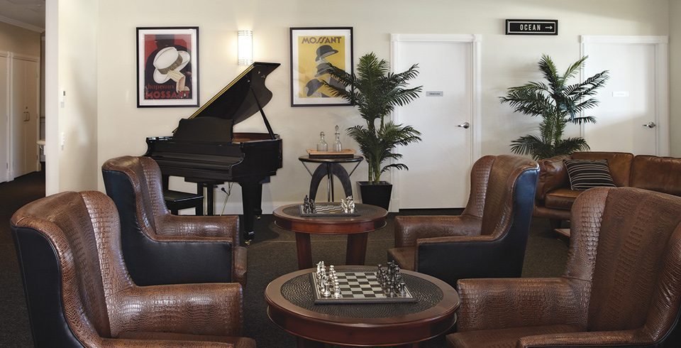 Arcare Aged Care Hope Island Piano Lounge
