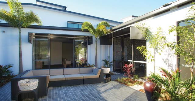 Arcare Aged Care Maroochydore Courtyard