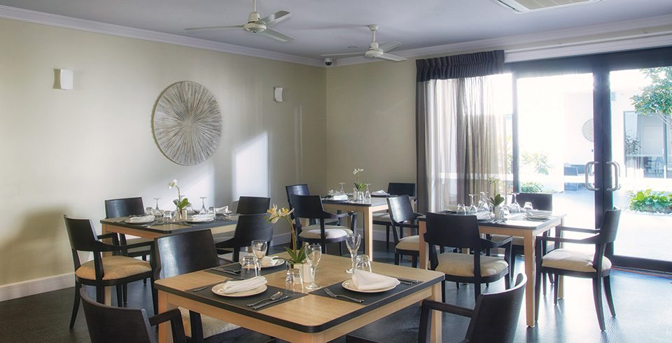 Arcare Aged Care Maroochydore Dining Room