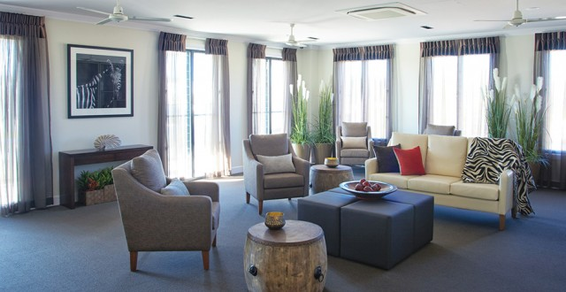 Arcare Aged Care Maroochydore Lounge Room