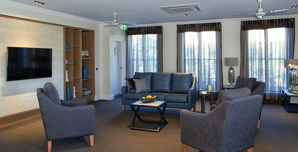 Arcare Aged Care Maroochydore Lounge Room 2
