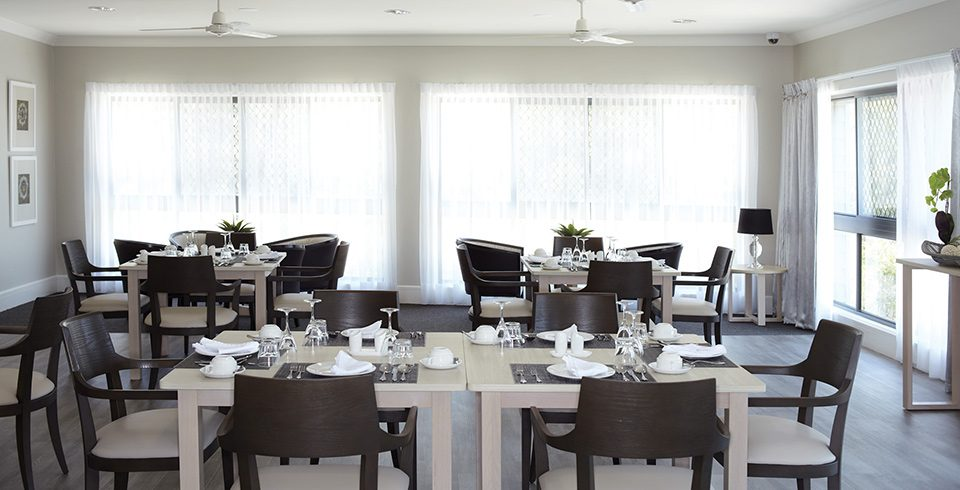 Arcare_Aged_Care_Peregian_Springs_Dining_Room