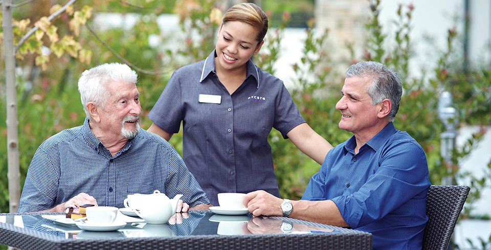 what is involved in residential aged care arcare