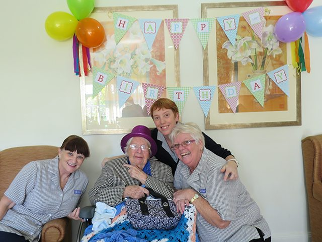 Arcare_Aged_Care_Endeavour_North_Lakes_Margaret_Birthday