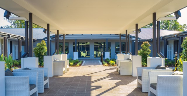Arcare Aged Care Caboolture Courtyard