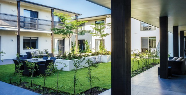 Arcare Aged Care Keysborough Courtyard