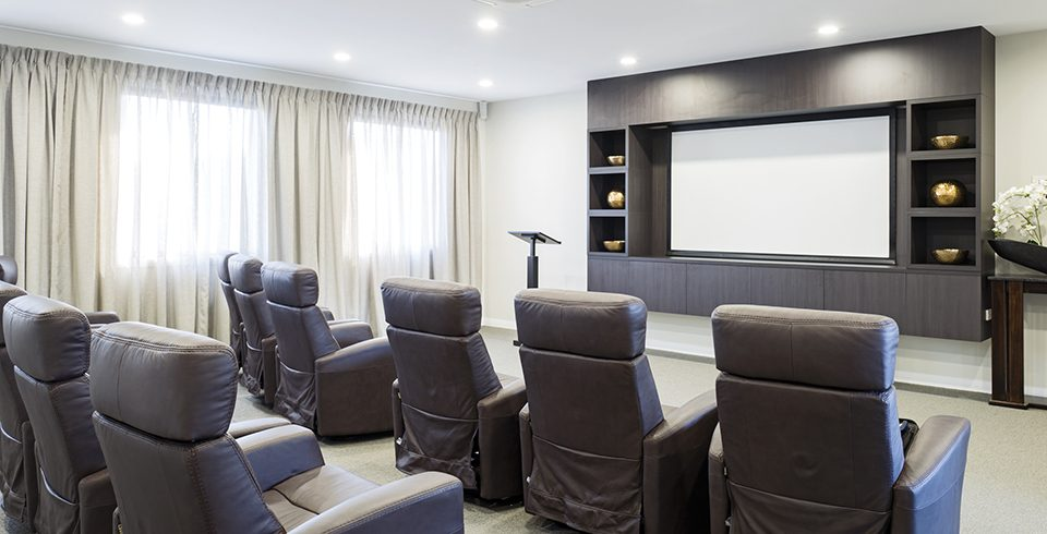 Arcare Aged Care Keysborough Movie Theatre