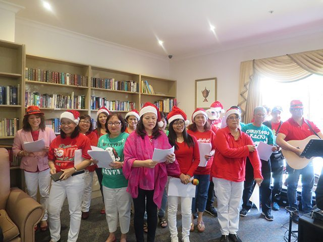 Arcare Aged Care Hillside Sydenham Christmas Carols