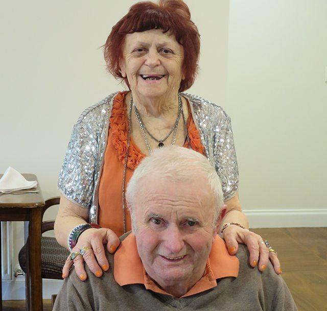 Arcare Aged Care Sandfield Cheltenham Yvonne And Graeme