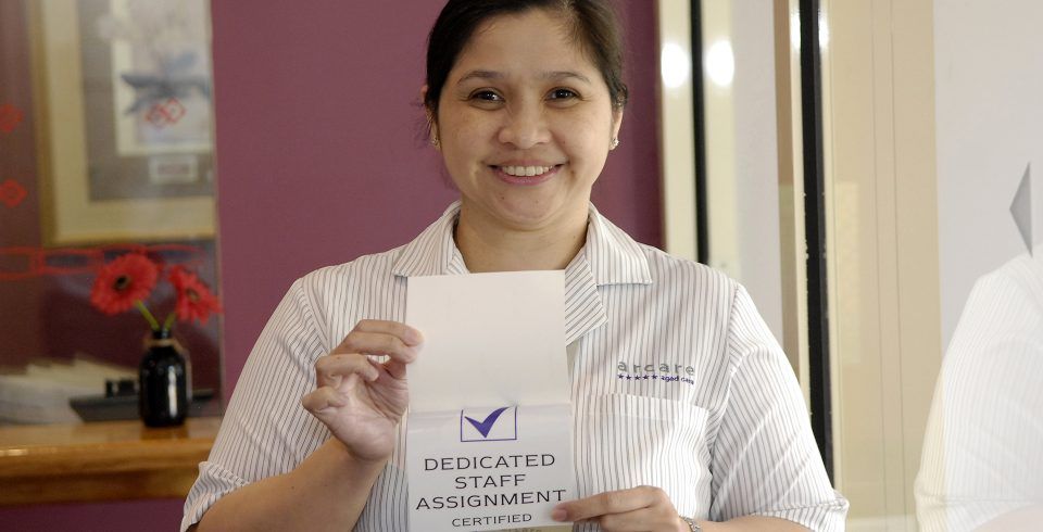 Arcare aged care Sydenham_Dedicated Staff Assignment_certified