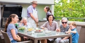 Arcare Aged Care Courtyards and Gardens