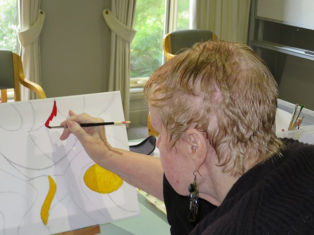 Arcare Aged Care Overton Lea Sydenham Painting 1