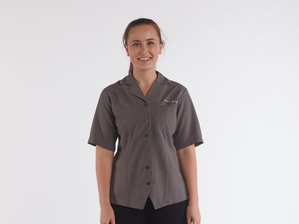 Arcare Aged Care Employee Uniforms Personal Care Worker