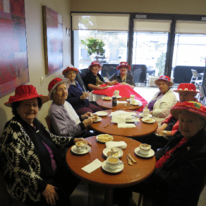Arcare Aged Care Epping Red Hat Society