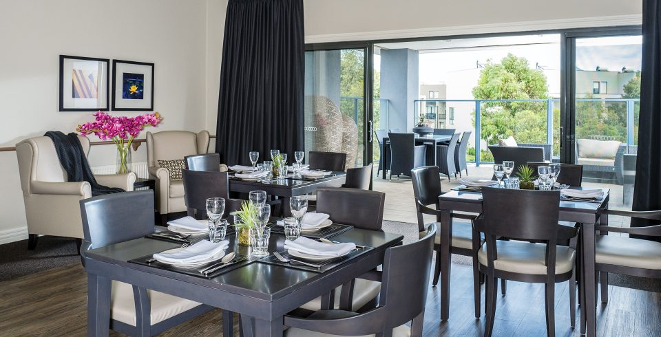 Arcare Aged Care Maidstone Dining Room