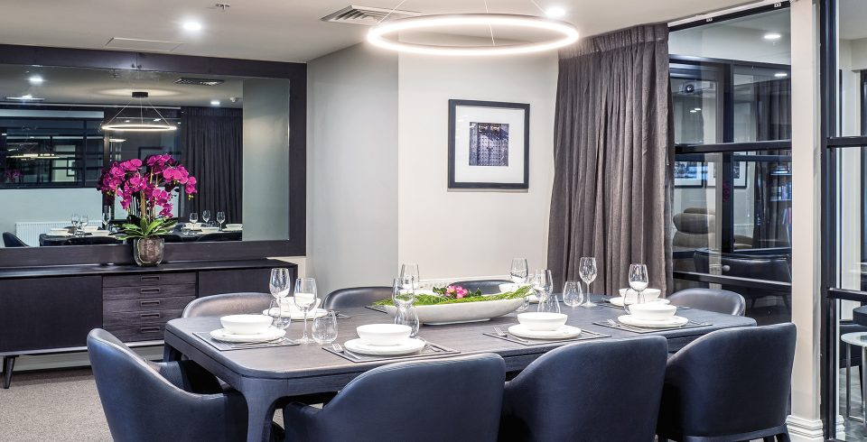 Arcare Aged Care Maidstone Private Dining Room