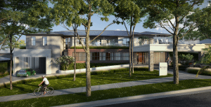 Arcare Aged Care Surrey Hills Render