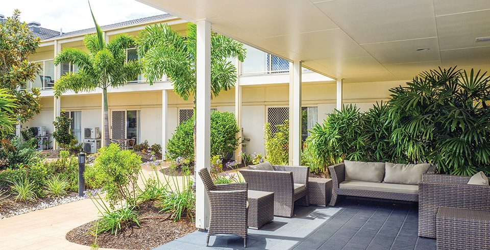 Arcare Aged Care Eight Mile Plains Courtyard 1