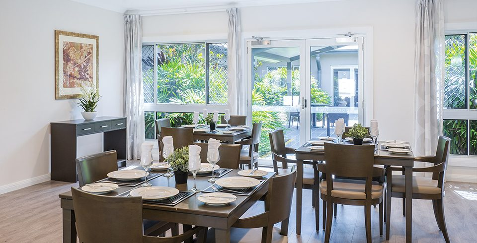 Arcare Aged Care Eight Mile Plains Dining Room 1