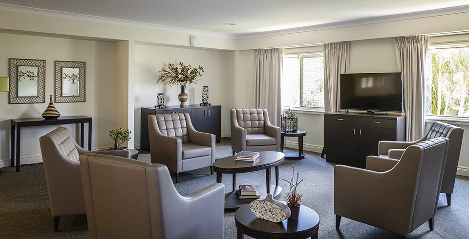 Arcare Aged Care Eight Mile Plains Lounge Room 2