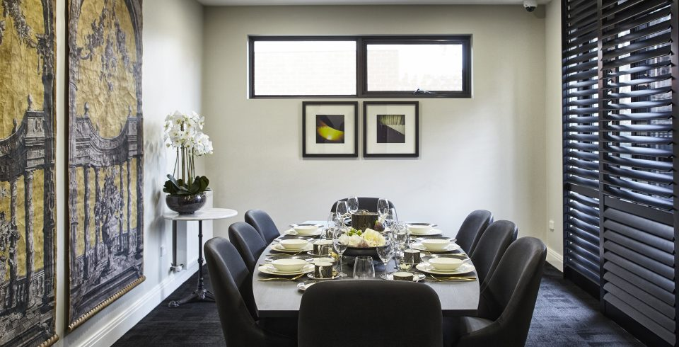 Arcare Aged Care Nirvana Avenue Malvern East Private Dining Room