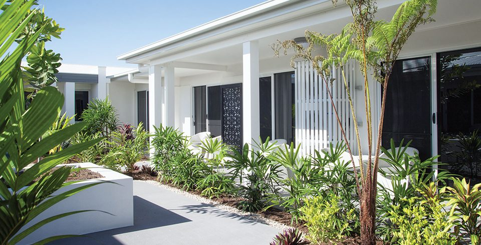 Arcare Aged Care North Shore Townsville Courtyard 1