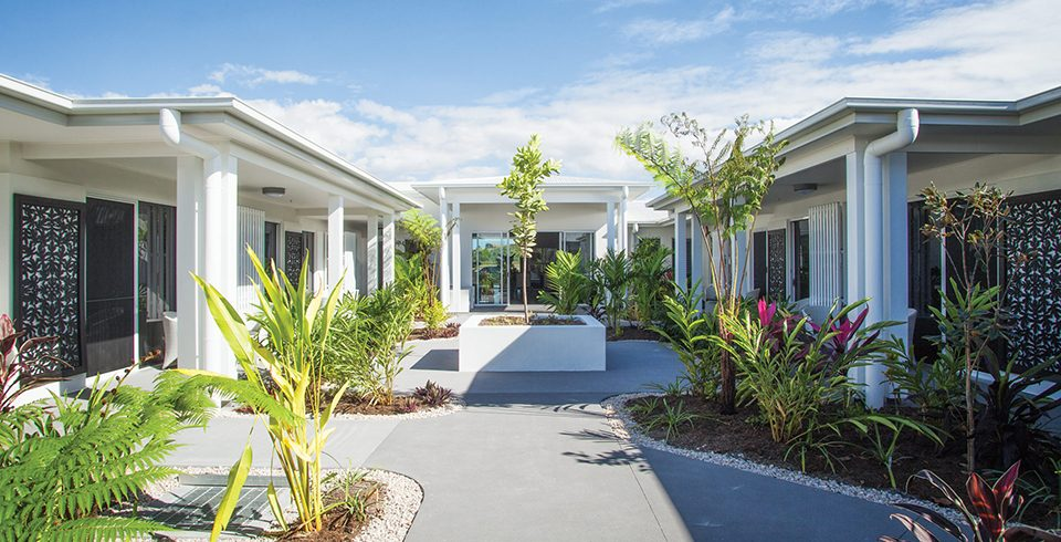 Arcare Aged Care North Shore Townsville Courtyard 2