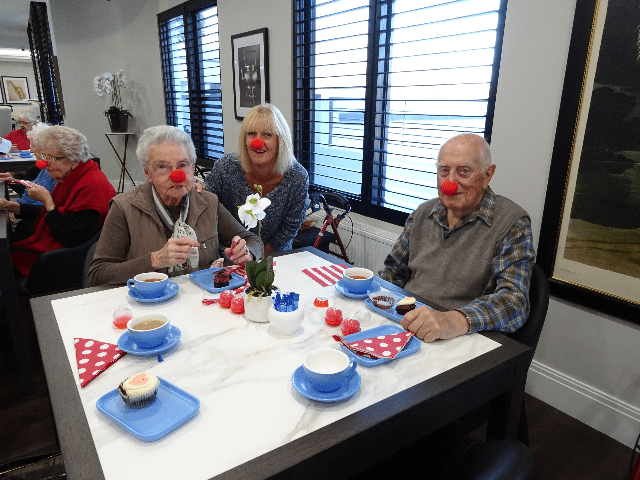 Arcare_Aged_Care_Parkview_Malvern_East_Red_Nose_Day2