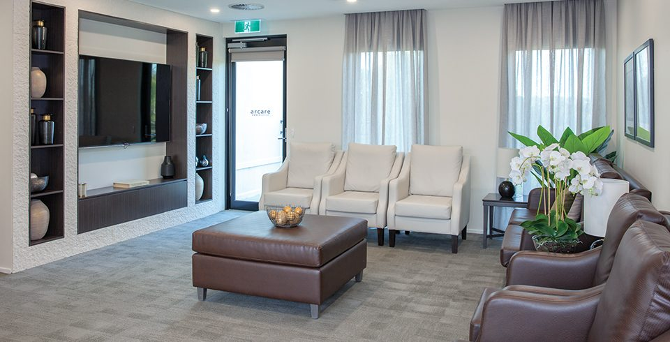 Arcare Aged Care Reservoir Lounge Room