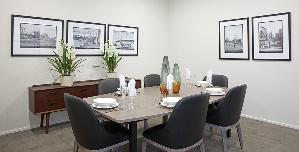 Arcare Aged Care Reservoir Private Dining Room