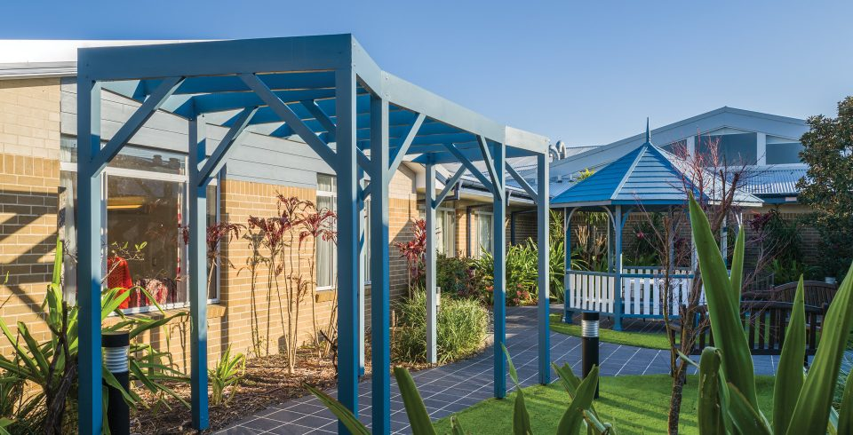 Arcare Aged Care Kanwal Garden Walkway