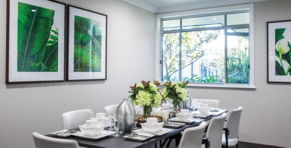 Arcare Aged Care Kanwal Private Dining Room